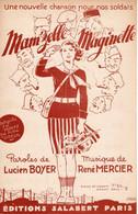 GUERRE 39/45 - LIGNE MAGINOT - MAM'ZELLE MAGINETTE - 1939 - EXCELLENT ETAT PROCHE DU NEUF - - Altri