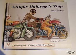 ANTIQUE MOTORCYCLE TOYS - ANCIENNES MOTOS JOUETS - Motorfietsen