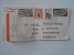 TAAF LETTRE DU 25/12/1974 DES DUMONT-D'URVILLE** - ...-1955 Préphilatélie