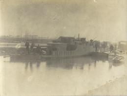NIEUWPOORT - NIEUPORT - UNE CANONNIERE AU REPOS ENTRE FURNES ET NIEUPORT - 13 JUIN 1915 - Nieuwpoort