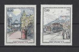 MONACO.  YT  N° 1543/1544   Neuf **  1986 - Unused Stamps