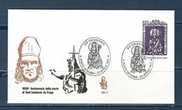 Vaticano / Vatican City 1997 - S.Adalberto -  FDC /VENEZIA - FDC