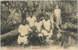PALAU Très Jolie Cpa Ethnographie - Palau