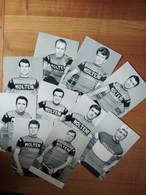 Cyclisme -retirages Photos Presse MOLTENI : SCHUTZ, TOSELLO, CAMPAGNARI, BODRERO, BALMAMION, SANTAMBROGGIO Etc.. - Cycling