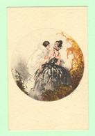 K1070 - Illustration Signée HARDY - Femme, Frau, Lady Avec PIERROT - Hardy, Florence