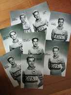 Cyclisme -retirages Photos Presse KAS 1959 : BARRUTIA, MONTERO, ASPURU, FERRAZ, TALAMILLO, MUSITU, IZA, ALBERDI - Cycling