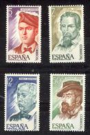 Spain 1977 - Personajes Ed 2398-01 (**) - 1971-80 Unused Stamps