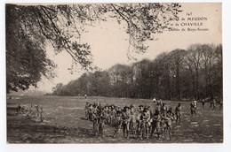BOIS DE MEUDON & CHAVILLE * DEFILES BOYS-SCOUTS * BICYCLETTES * Carte N° 343 - Meudon