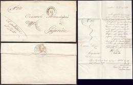 Italy - Stampless Folded Letter, 'MUNICIPIO (Comune) DI CONEGLIANO' 29.1.1874 - Sindaco Di Municipio Gaiarine. - Marcophilia