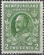 NEWFOUNDLAND 1932 King George V - 2c - Green FU - 1908-1947