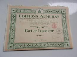 EDITIONS AUMERAN (alger,algérie) - Non Classificati