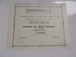 GRIGNARD & Cie (alger,algérie) - Non Classificati