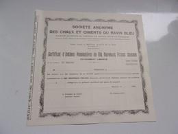 CHAUX ET CIMENTS DU RAVIN BLEU (1960) BATNA-ALGERIE - Non Classificati