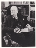 WINSTON CHURCHILL - FOTOGRAFIA -  Ex Primo Ministro Del Regno Unito - Unclassified