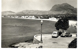 BENIDORM  PLAYA  4 CV 4 CHEVAUX RENAULT   -  CPSM 1950 / 60 - Toerisme