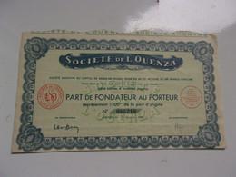 L'OUENZA (1948) ALGERIE - Non Classificati