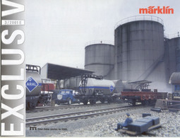 Catalogue Märklin 2020/3 Exklusiv MHI One-time Series In 2001 - Trix - Engels