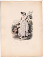 Gravure - Collection Musée Cosmopolite N°13 - France 4 Femme Environs De Mâcon - Maison Aubert à Paris (75) - Costumes - Estampes & Gravures