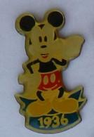 BD348 Pin's DISNEY MICKEY 1936 Achat Immédiat - Disney