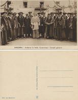 ANDORRE   R.A. RAMON D'ARENY PLANDOLIT  Andorra La Vella. Coprince I Consell G&nèral  ( Sans N° Série De 18 Cp) - Andorre
