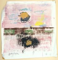 Peinture Abstraite/ Abstract Painting, Ruth Helena Fischer - Pastelli