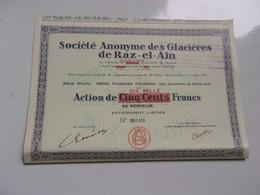 GLACIERES DE RAZ EL AIN (oran , Algérie) - Non Classificati