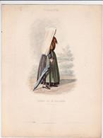 Gravure - Collection Musée De Costumes N°265 - France 53 Femme De St-Gaudens - Maison Aubert à Paris (75) - Estampes & Gravures