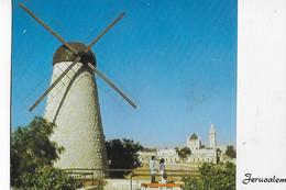 ISRAEL  -  JERUSALEM  -  Le  Moulin  à  Vent - Israele