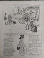 Punch, Or The London Charivari Vol CXIII - NOVEMBER 13, 1897 -  TURKEY RUSSIA. Magazine 12 Pages - Non Classificati