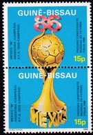Guinea-Bissau , 1986, 901/02,  MNH **, FIFA-Pokal - 1986 – Mexiko
