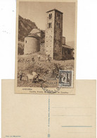 ANDORRE   R.A. RAMON D'ARENY PLANDOLIT Canillo. Ermita De Sant Joan De Casellas, Belle CM - Andorre