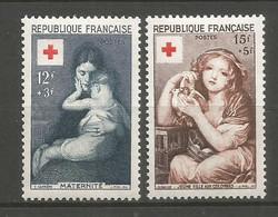 Timbre France En Neuf * N 1006/1007 - Ongebruikt