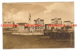 TONEZZA - GRUPPO DEL CENTRO F/PICCOLO VIAGGIATA 1927 - Vicenza