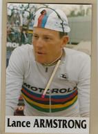 CYCLISME. Carte Postale De Lance ARMSTRONG En Champion Du Monde - Cycling