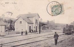 03, Bert, La Gare, Animée, Train, 1906, éditeur Lapalisse - Lapalisse
