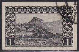 340.Austria Issue For Bosnia 1906 Definitive Doboj Imperforated USED Michel #45 - Bosnië En Herzegovina