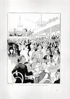 Gravure Illustration Du 19 ° Siècle -  ... Comment Polyte Se Présente Un Bal Dans Le Grand Monde ... - Other