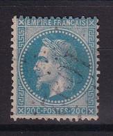 D 177 / LOT NAPOLEON N° 29 OBL / VARIETE N DE FRANC - 1863-1870 Napoleone III Con Gli Allori