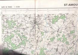 St Amour (ain) Carte 1:25 000 IGN  1972 - Carte Geographique