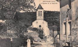 SOUCLIN - L'Eglise Et La Mairie - Autres Communes