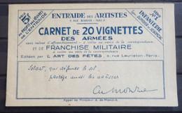 France Carnet Infanterie Maury N° 246-B. TB. A Saisir! - Otros