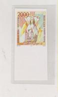BOSNIA AND HERZEGOVINA 1993   CROATIAN POST MEDUGORJE Imperforated Proof MNH - Bosnië En Herzegovina