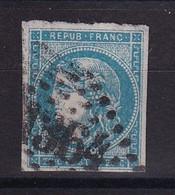 D 177 / LOT BORDEAUX N° 45C OBL COTE 70€ - 1870 Bordeaux Printing