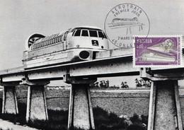 FRANCE - Carte Maximum - N° 716 - Aérotrain - Tb N° 1631 - 1970 - 1970-79