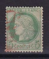 D 178 / LOT CERES N° 53 CACHET ROUGE COTE 15€ - 1871-1875 Ceres