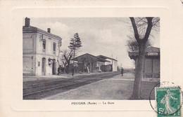 03, Pexiora, La Gare, Animée, Contrôleurs - Altri Comuni