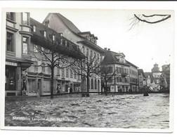 Marktgasse Langenthal Bei Hochwasser.  Inondation. Alluvione. Non Circulée. 10,5 X 14,9 Cm - BE Berne