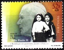 # PORTOGALLO PORTUGAL - 2000 - Pope John Paul II - Papa Giovanni Paolo Stamp MNH - Unclassified