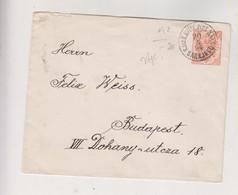 BOSNIA AND HERZEGOVINA AUSTRIA 1894 SARAJEVO Postal Stationery Cover To Hungary - Bosnië En Herzegovina