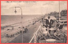 LUC-sur MER (14) Cpa 1929 - La Digue Et La Plage - Éd. CAP  (¬‿¬) ♥ - Luc Sur Mer